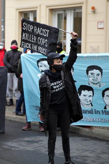 Oury Jalloh - Das war Mord - Berlin 07.01.2021