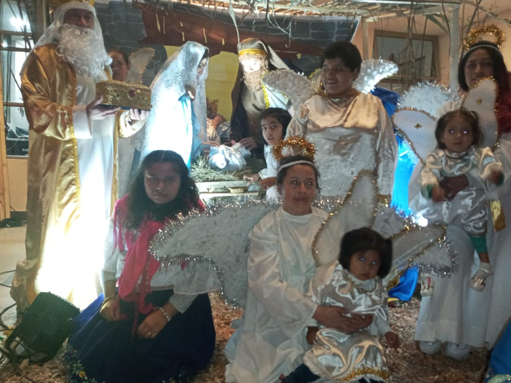 Ecuador: Pesebre viviente en el Hogar San Camilo