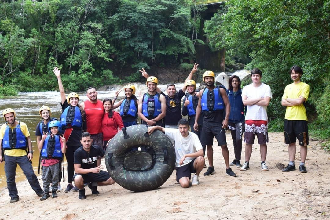 Brasil: Paseo con los jóvenes de la Parroquia Divino Spirito Santo
