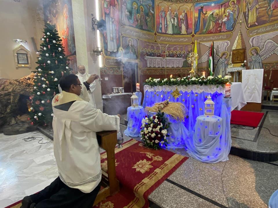 Gaza: Primera Adoración al Santísimo del año 2021