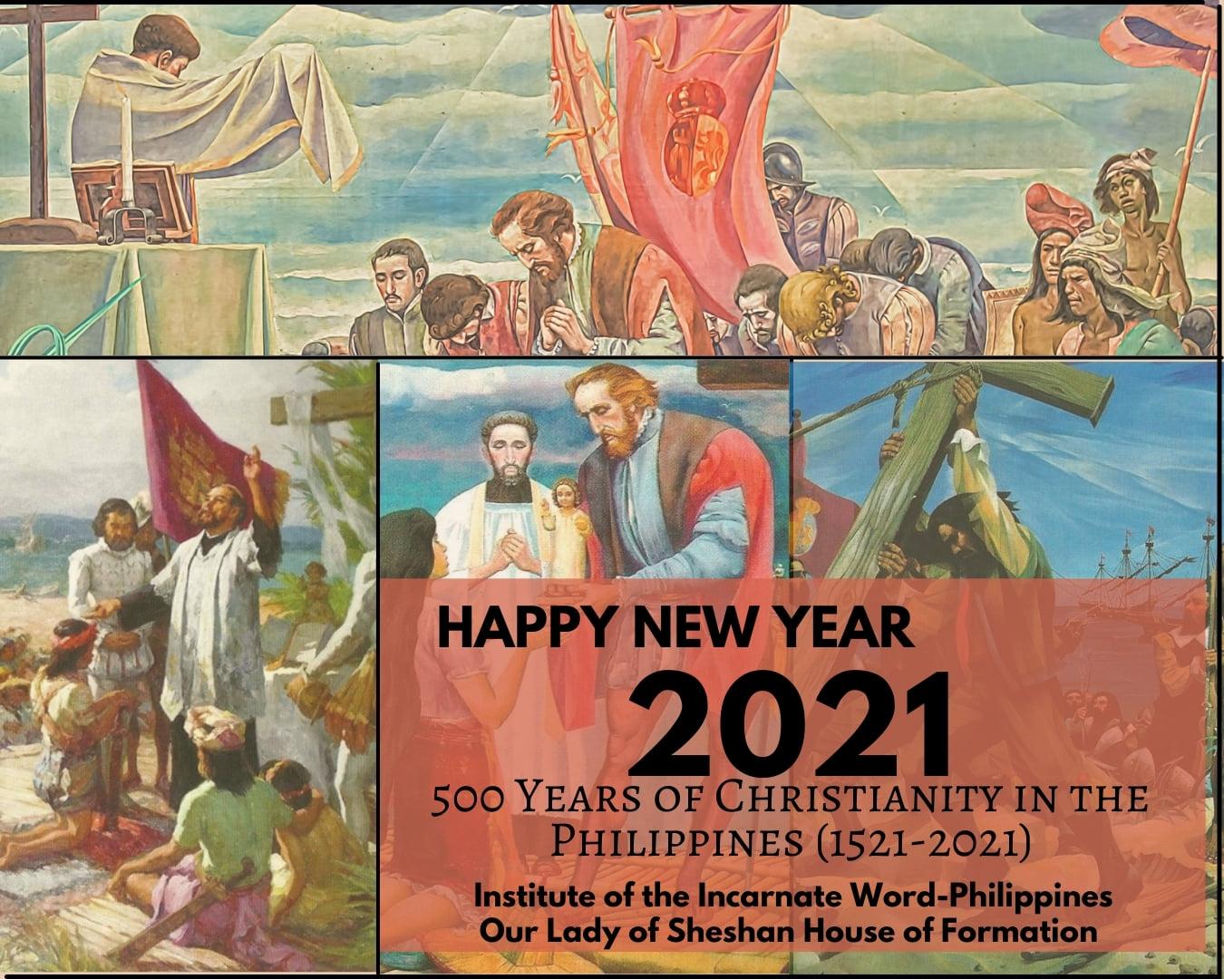 Filipinas: Año Nuevo y 500° Aniversario de Evangelización