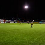 Gavin Elphinstone celebrates his first Huntly goal