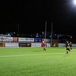 Gavin Elphinstone drills in the third