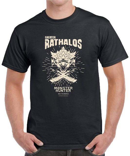 MH T-shirt_Rathalos