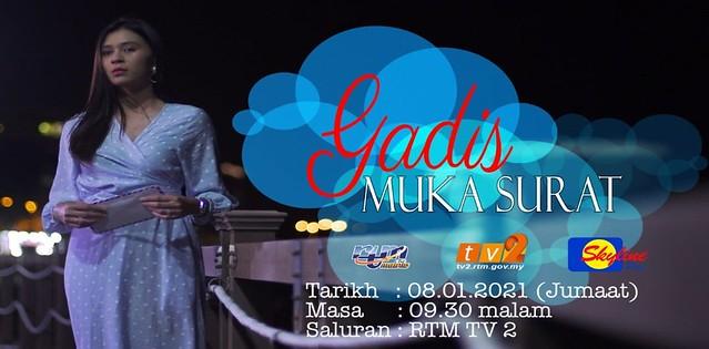 poster Gadis Muka Surat di TV2