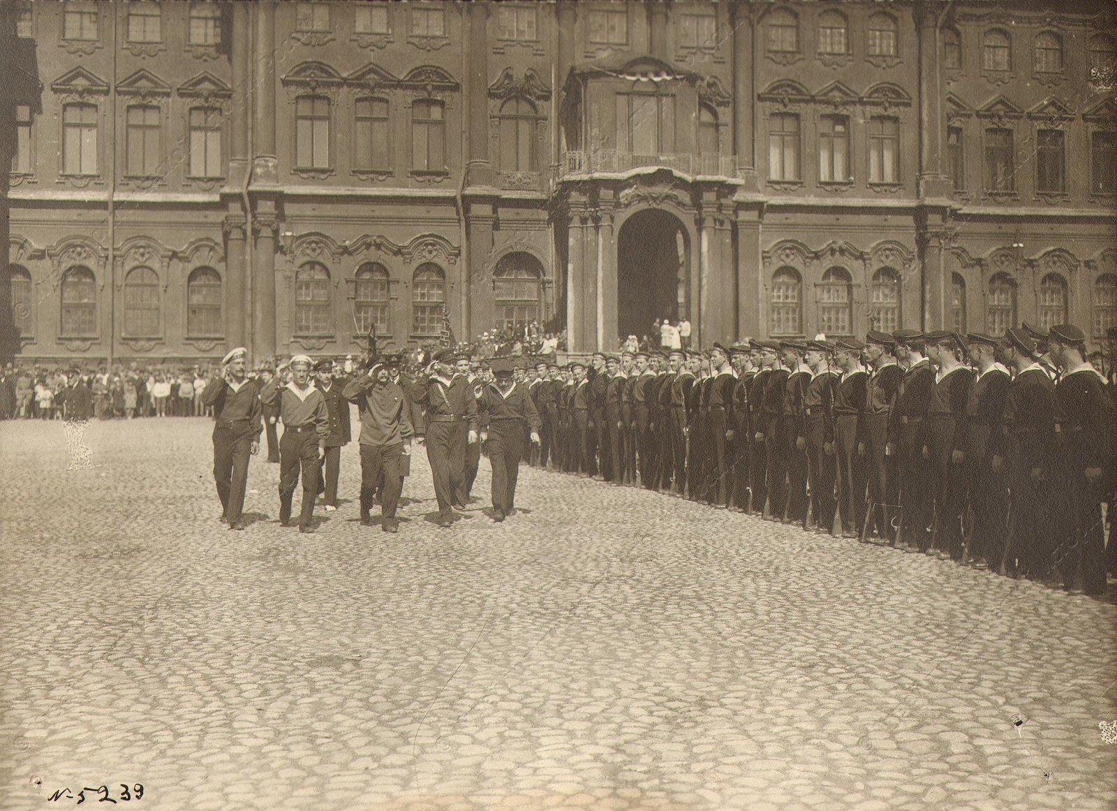 1918. День Красного флота в Петрограде