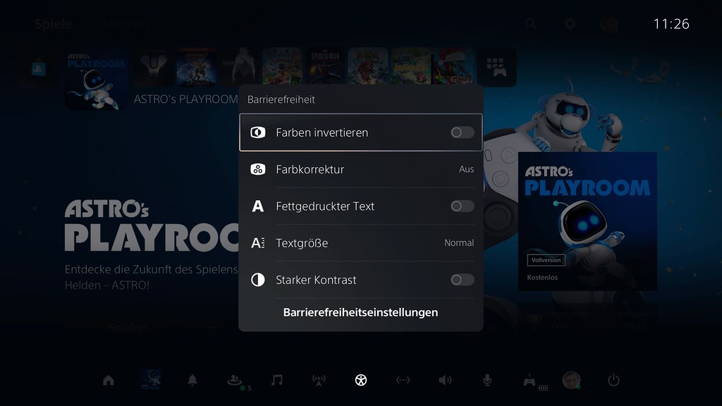 PlayStation 5 - Control Center im Detail