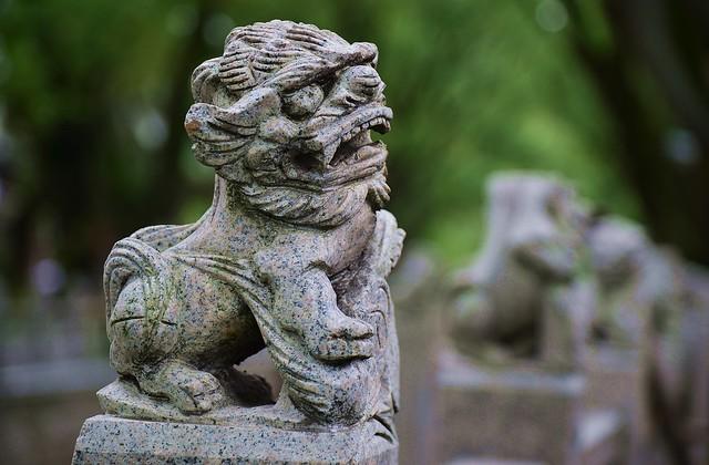 Shanghai - Little Stone Lion