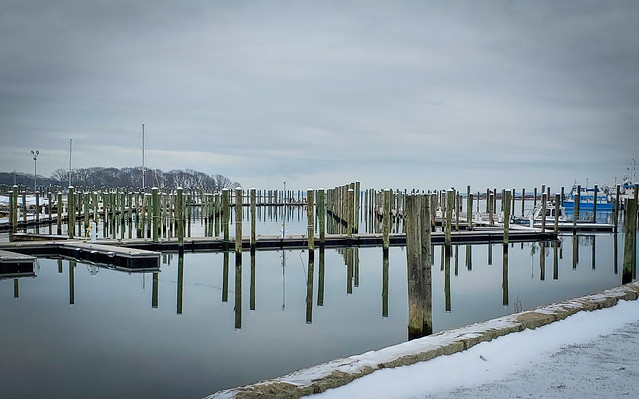 Avery Point after first snow