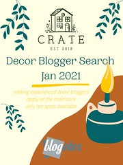 Crate Blogger Search Jan 2021