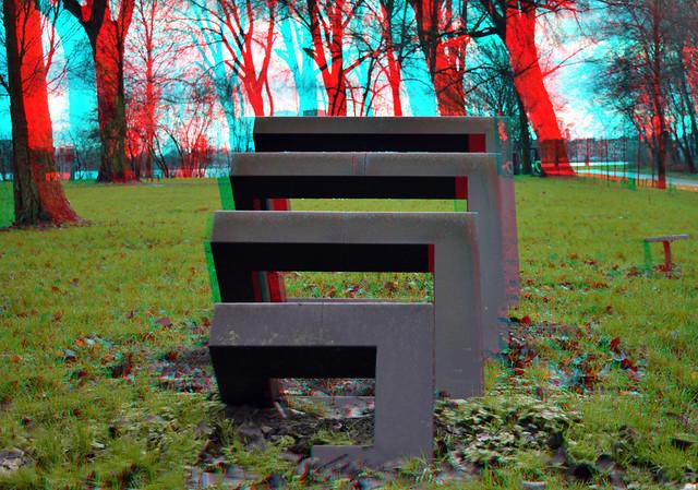 Beeldenpark Drechtoevers Zwijndrecht 3D