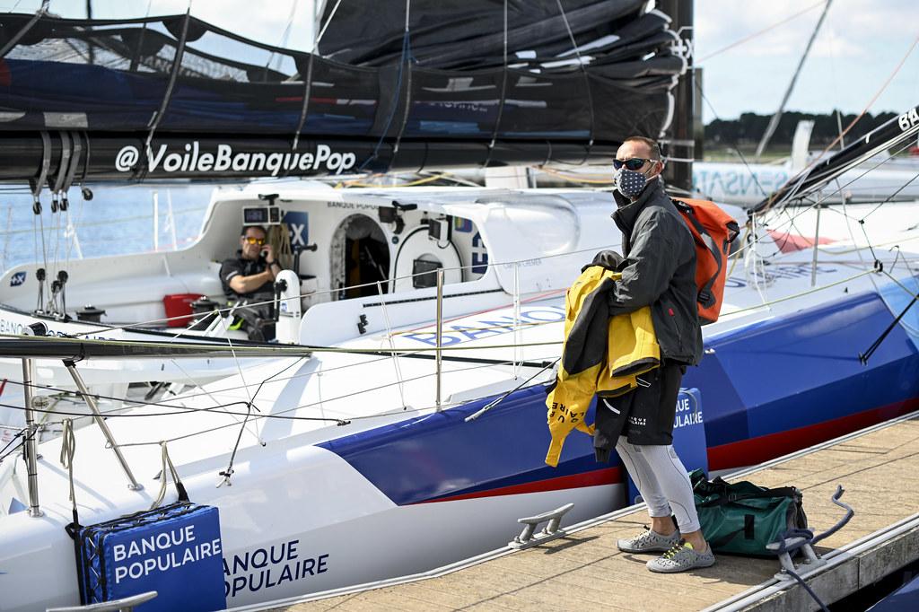 Départ de la Vendée - Arctique - les Sables-d'Olonne 2020