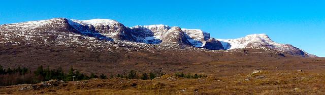 Beinn Bhan from near start of Bealach na Ba (Pass of the Cattle)