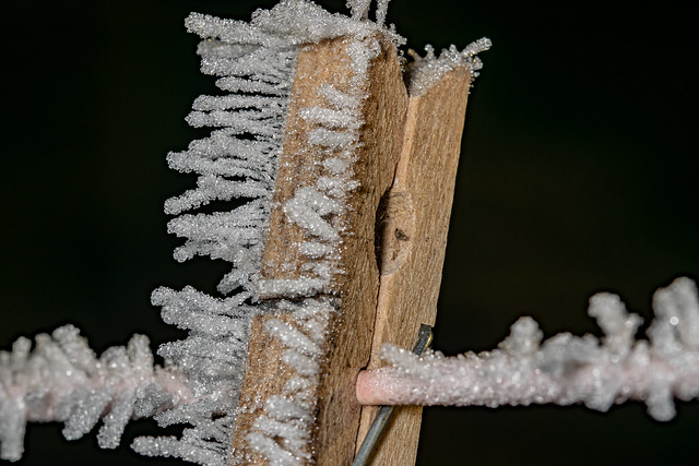 Frost and the peg