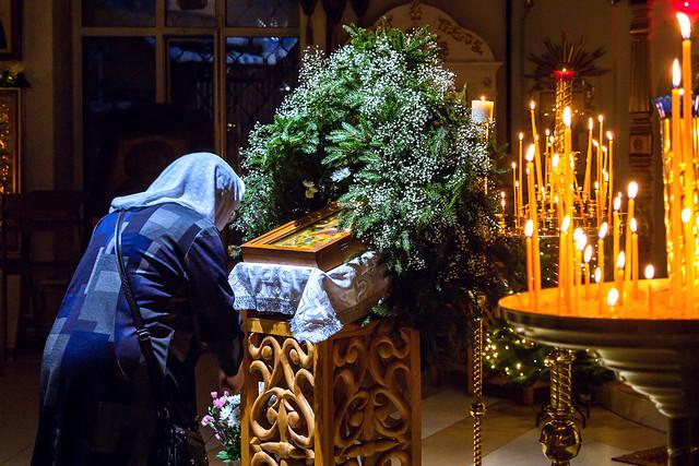 6 января 2021 г. Всенощное бдение Рождества Христова