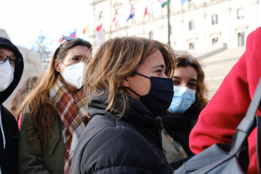 Protesto de TAS, Lisboa, Janeiro 2021