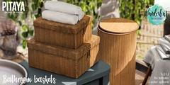 Pitaya - Bathroom baskets @ Wnaderlust