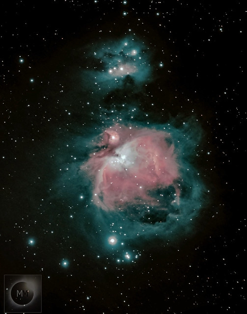 Orion's Sword with M42 The Orion Nebula - 2018, 2019 + 2020
