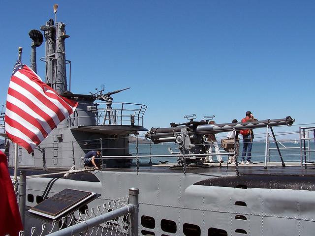 Submarine Gun Ship Boat Flag Edit 2021