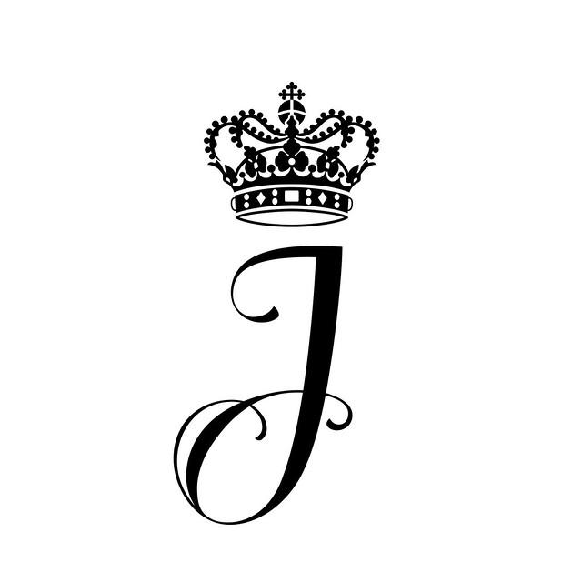 Monogram Prins Vincent en Prinses Josephine van Denemarken