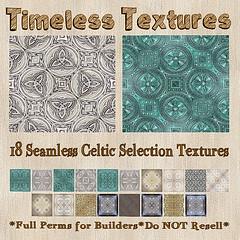TT 18 Seamless Celtic Selection Timeless Textures