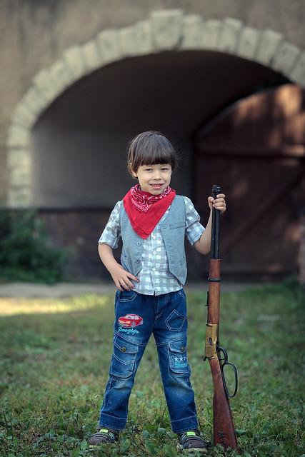 Gun Weapons Western Boy Bully  Edite 2021