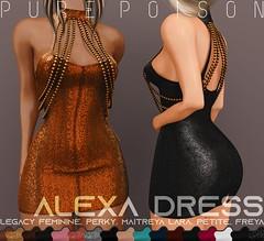 Pure Poison - Alexa Dress - Collabor88