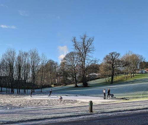 Ice Skaters, Balbirnie Park
