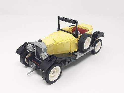 lego 10271 Citroen 5HP-Trefle | by monstermatou