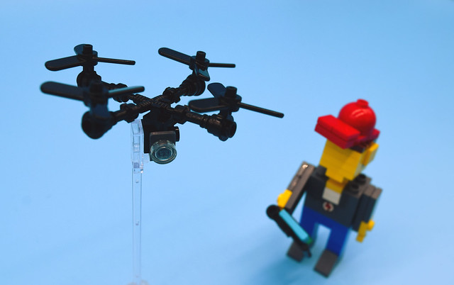 Boy and Drone