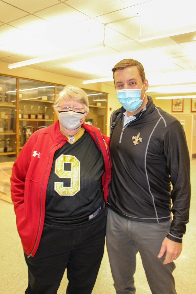Saints Tshirt & Mask Day