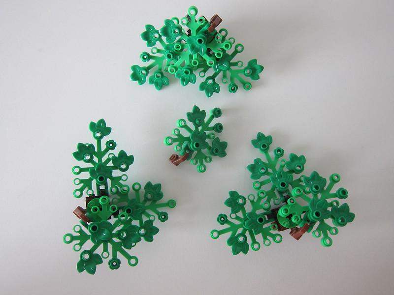 LEGO Bonsai Tree 10281 - Normal Leaves