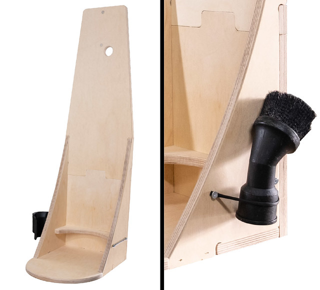 Backpack Vacuum Wall Stand