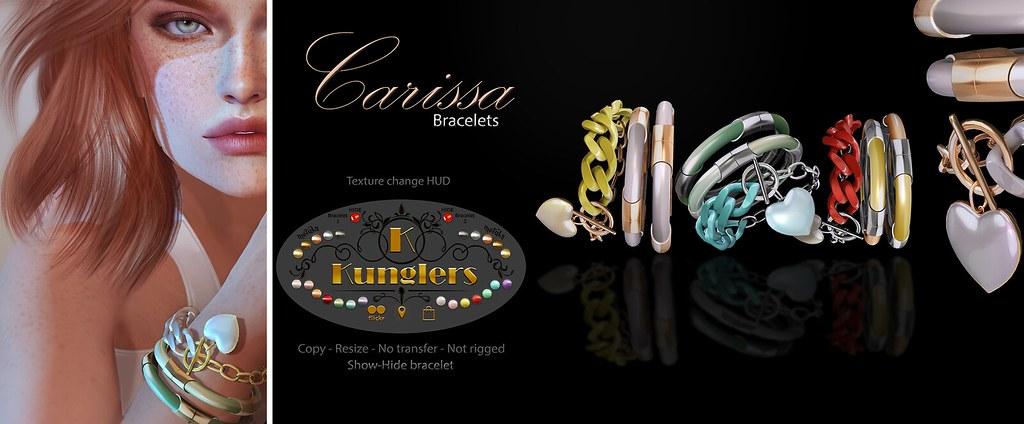 KUNGLERS – Carissa bracelets