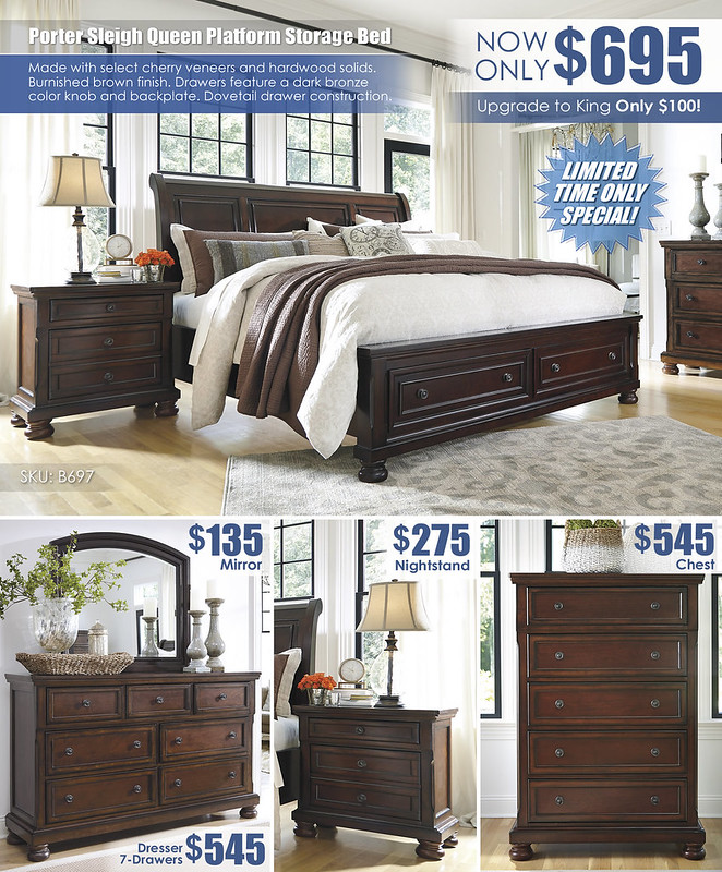 Porter Sleigh Queen Platform Bed Special_Layout_B697_Update
