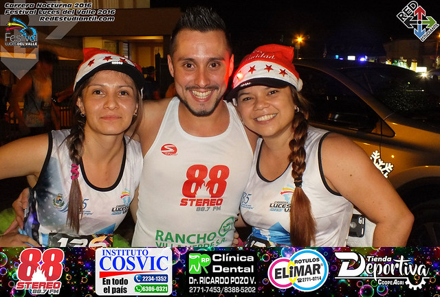 Carrera Nocturna Luces del Valle 2016