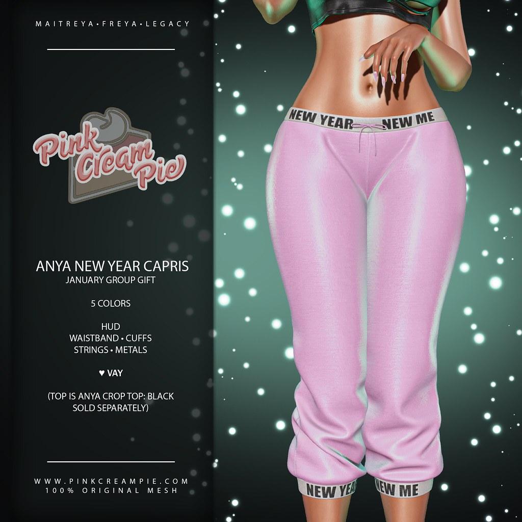 January Group Gift :: Pink Cream Pie