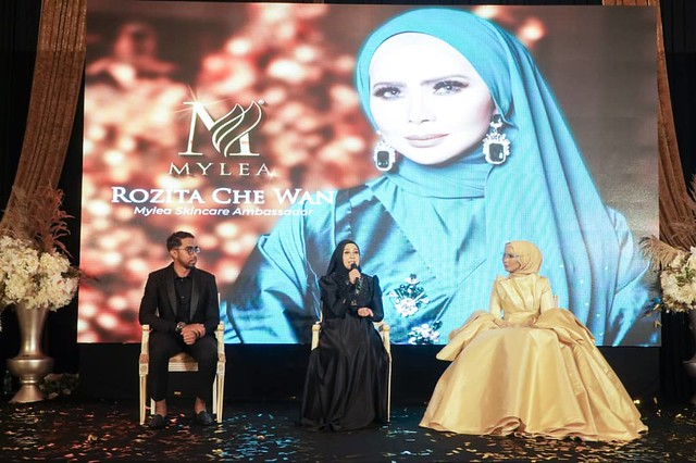 Tahniah! Rozita Che Wan Dilantik Jadi Duta Produk Mylea