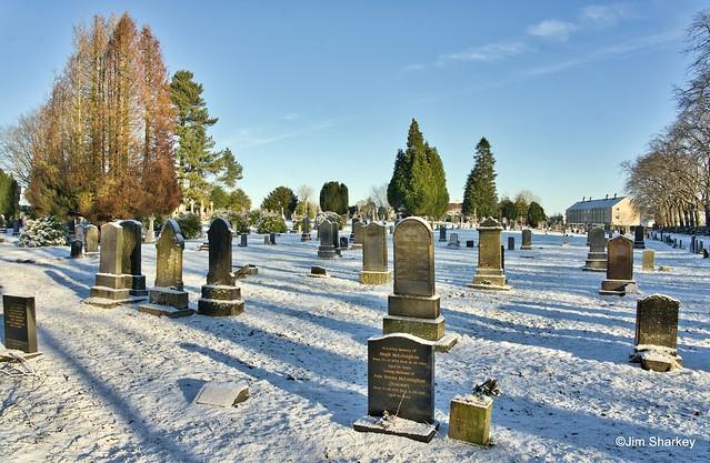 Abbey cemetery Elderslie Scotland
