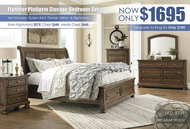 Flynnter Queen Storage Bedroom Set B719-31-36-46-78-76-99-92_Update