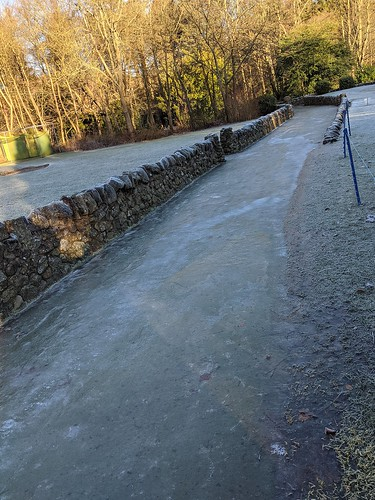Icy Golf Path, Balbirnie