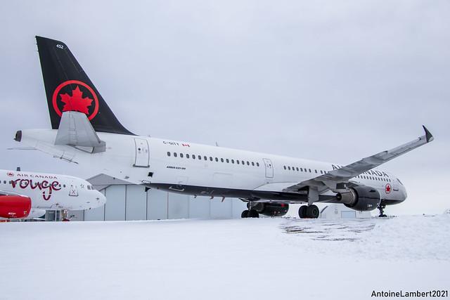 Air Canada Airbus 321-200 C-GITY