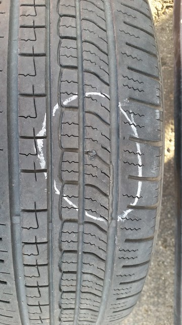 Repaired Tire