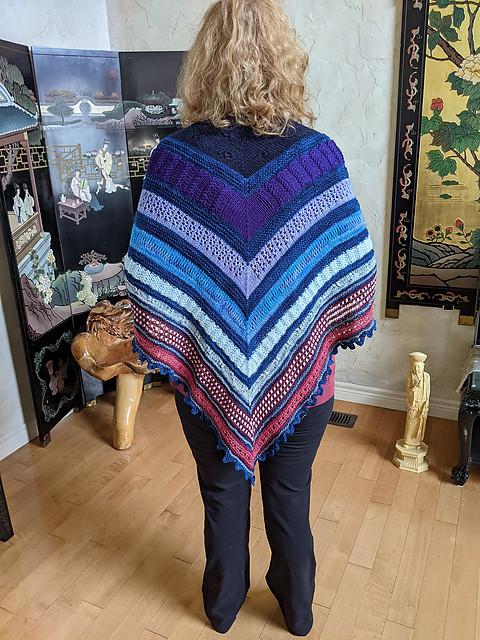 Linda (lmcnorton) finished her Twelve Days of Knitmas KAL 2020 by Melissa Kemmerer for a friend!