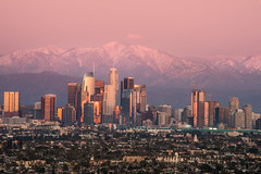 Los Angeles during New Year's Eve