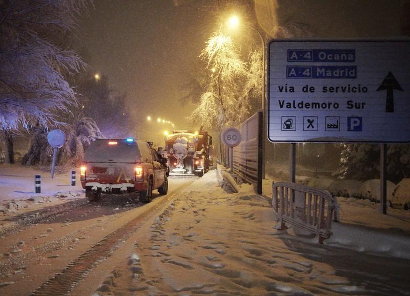 Intervención por TIS en Madrid