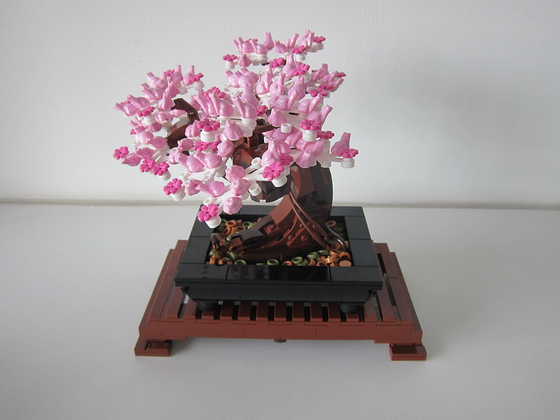 LEGO Bonsai Tree 10281 - With Cherry Blossom Leaves