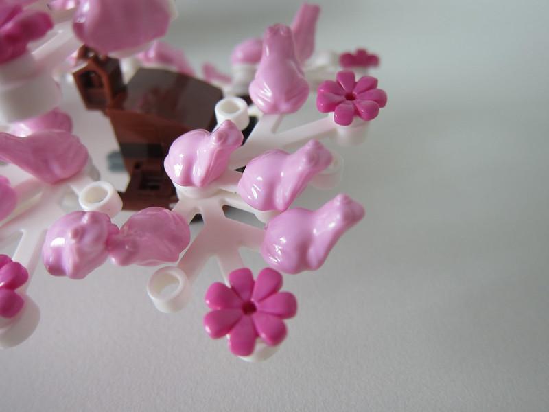 LEGO Bonsai Tree 10281 - Cherry Blossom Leaves - Frog