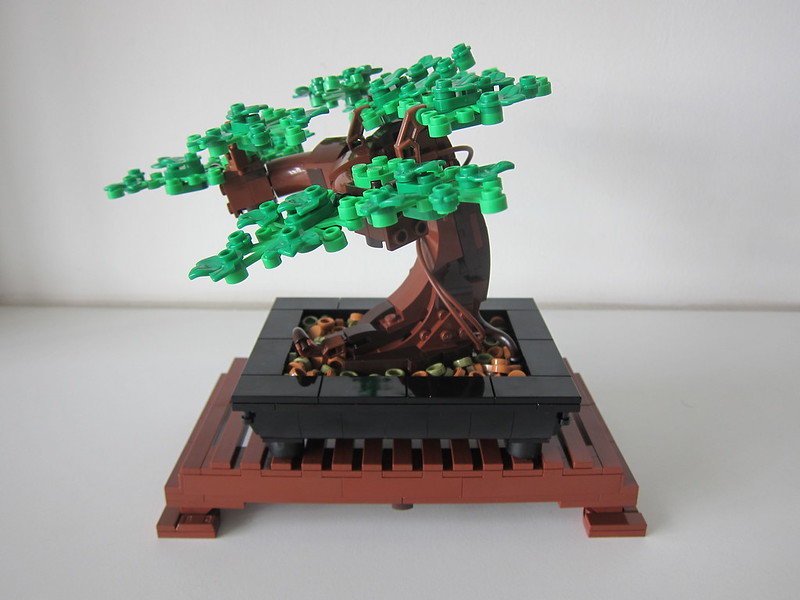 LEGO Bonsai Tree 10281 - With Normal Leaves