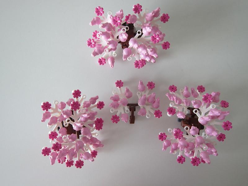 LEGO Bonsai Tree 10281 - Cherry Blossom Leaves